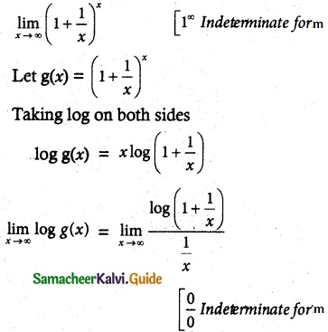 Samacheer Kalvi 12th Maths Guide Chapter 7 Applications of Differential Calculus Ex 7.5 6