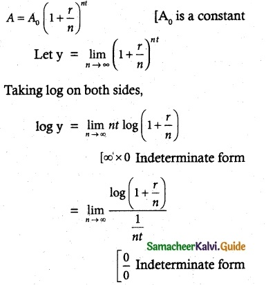 Samacheer Kalvi 12th Maths Guide Chapter 7 Applications of Differential Calculus Ex 7.5 9