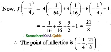 Samacheer Kalvi 12th Maths Guide Chapter 7 Applications of Differential Calculus Ex 7.7 4