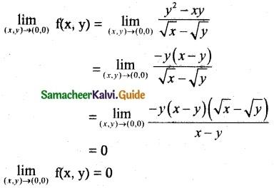 Samacheer Kalvi 12th Maths Guide Chapter 8 Differentials and Partial Derivatives Ex 8.3-1