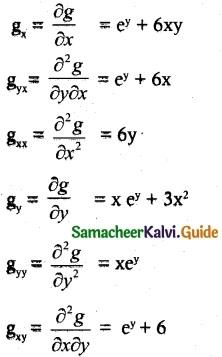 Samacheer Kalvi 12th Maths Guide Chapter 8 Differentials and Partial Derivatives Ex 8.4 10