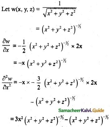 Samacheer Kalvi 12th Maths Guide Chapter 8 Differentials and Partial Derivatives Ex 8.4 12