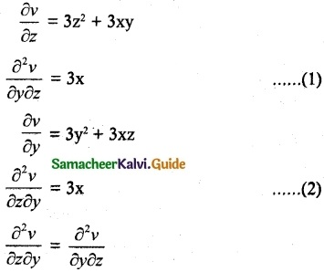 Samacheer Kalvi 12th Maths Guide Chapter 8 Differentials and Partial Derivatives Ex 8.4 16