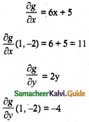 Samacheer Kalvi 12th Maths Guide Chapter 8 Differentials and Partial Derivatives Ex 8.4 2