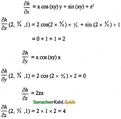 Samacheer Kalvi 12th Maths Guide Chapter 8 Differentials and Partial Derivatives Ex 8.4 3