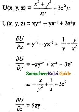 Samacheer Kalvi 12th Maths Guide Chapter 8 Differentials and Partial Derivatives Ex 8.4 8