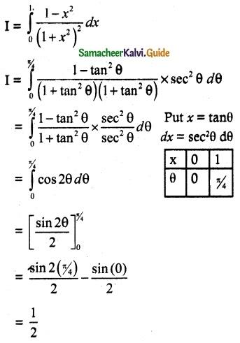 Samacheer Kalvi 12th Maths Guide Chapter 9 Applications of Integration Ex 9.3 6