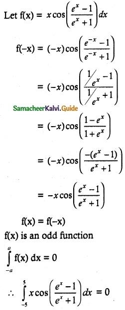 Samacheer Kalvi 12th Maths Guide Chapter 9 Applications of Integration Ex 9.3 7