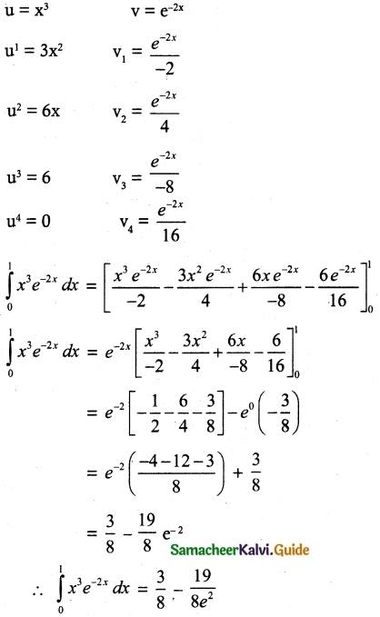 Samacheer Kalvi 12th Maths Guide Chapter 9 Applications of Integration Ex 9.4 1