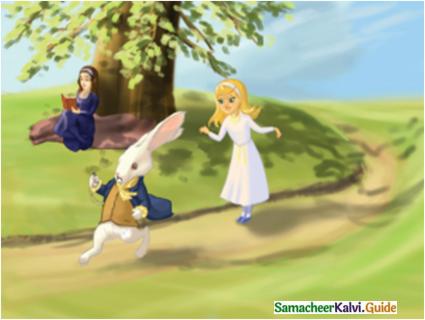 Samacheer Kalvi 7th English Guide Term 2 Supplementary Chapter 1 Alice in Wonderland 1