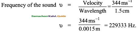 Samacheer Kalvi 9th Science Guide Chapter 8 Sound 12