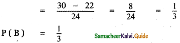 Samacheer Kalvi 11th Maths Guide Chapter 12 Introduction to Probability Theory Ex 12.5 6