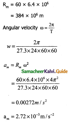 Samacheer Kalvi 11th Physics Guide Chapter 3 Laws of Motion 28