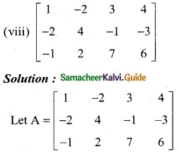 Samacheer Kalvi 12th Business Maths Guide Chapter 1 Applications of Matrices and Determinants Ex 1.1 4