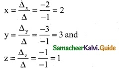 Samacheer Kalvi 12th Business Maths Guide Chapter 1 Applications of Matrices and Determinants Ex 1.2 11
