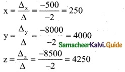 Samacheer Kalvi 12th Business Maths Guide Chapter 1 Applications of Matrices and Determinants Ex 1.2 13