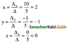 Samacheer Kalvi 12th Business Maths Guide Chapter 1 Applications of Matrices and Determinants Ex 1.2 3