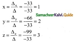Samacheer Kalvi 12th Business Maths Guide Chapter 1 Applications of Matrices and Determinants Ex 1.2 4