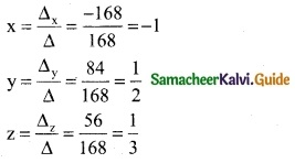 Samacheer Kalvi 12th Business Maths Guide Chapter 1 Applications of Matrices and Determinants Ex 1.2 5