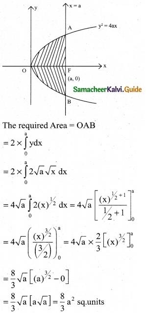 Samacheer Kalvi 12th Business Maths Guide Chapter 3 Integral Calculus II Ex 3.1 3