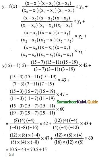 Samacheer Kalvi 12th Business Maths Guide Chapter 5 Numerical Methods Ex 5.2 26