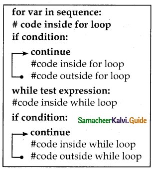 Samacheer Kalvi 12th Computer Science Guide Chapter 6 Control Structures 7