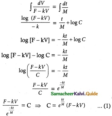 Samacheer Kalvi 12th Maths Guide Chapter 10 Ordinary Differential Equations Ex 10.5 1