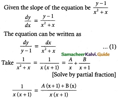 Samacheer Kalvi 12th Maths Guide Chapter 10 Ordinary Differential Equations Ex 10.5 3