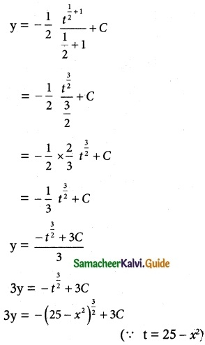 Samacheer Kalvi 12th Maths Guide Chapter 10 Ordinary Differential Equations Ex 10.5 6