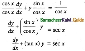 Samacheer Kalvi 12th Maths Guide Chapter 10 Ordinary Differential Equations Ex 10.7 1