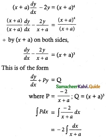 Samacheer Kalvi 12th Maths Guide Chapter 10 Ordinary Differential Equations Ex 10.7 15