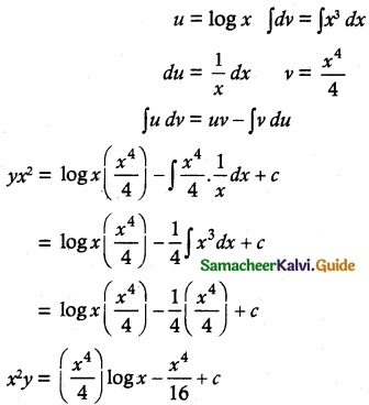 Samacheer Kalvi 12th Maths Guide Chapter 10 Ordinary Differential Equations Ex 10.7 20