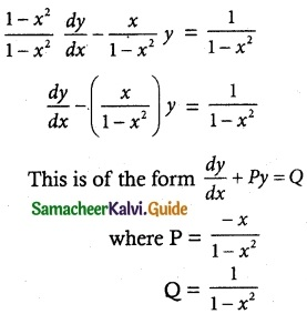 Samacheer Kalvi 12th Maths Guide Chapter 10 Ordinary Differential Equations Ex 10.7 3