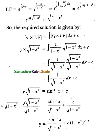 Samacheer Kalvi 12th Maths Guide Chapter 10 Ordinary Differential Equations Ex 10.7 4