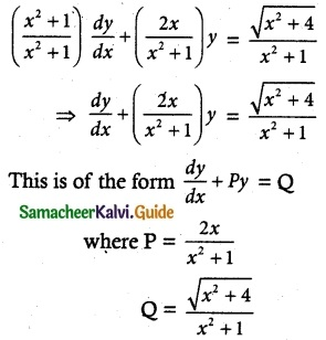 Samacheer Kalvi 12th Maths Guide Chapter 10 Ordinary Differential Equations Ex 10.7 5