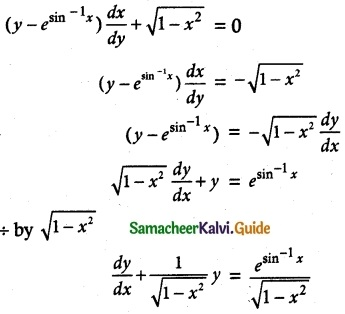 Samacheer Kalvi 12th Maths Guide Chapter 10 Ordinary Differential Equations Ex 10.7 9
