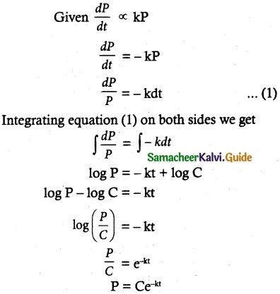 Samacheer Kalvi 12th Maths Guide Chapter 10 Ordinary Differential Equations Ex 10.9 13
