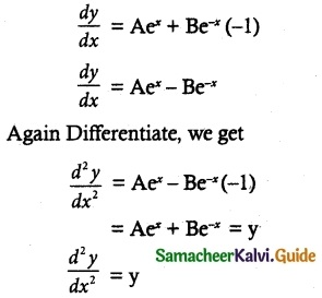 Samacheer Kalvi 12th Maths Guide Chapter 10 Ordinary Differential Equations Ex 10.9 3