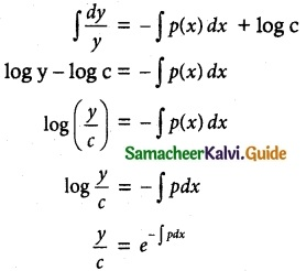 Samacheer Kalvi 12th Maths Guide Chapter 10 Ordinary Differential Equations Ex 10.9 5