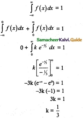 Samacheer Kalvi 12th Maths Guide Chapter 11 Probability Distributions Ex 11.3 11
