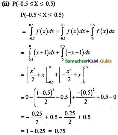 Samacheer Kalvi 12th Maths Guide Chapter 11 Probability Distributions Ex 11.3 18