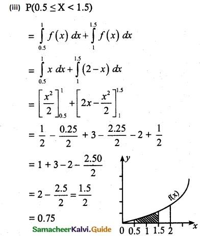 Samacheer Kalvi 12th Maths Guide Chapter 11 Probability Distributions Ex 11.3 5