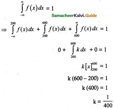 Samacheer Kalvi 12th Maths Guide Chapter 11 Probability Distributions Ex 11.3 7