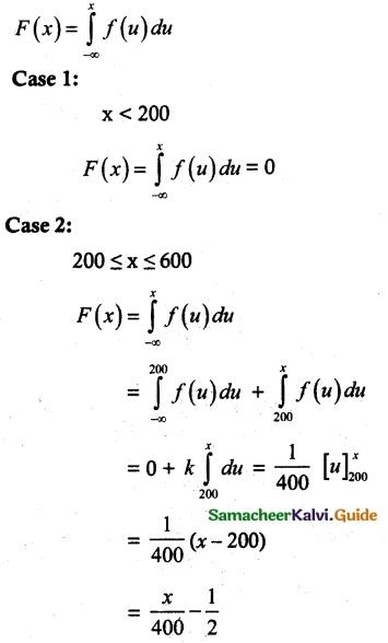 Samacheer Kalvi 12th Maths Guide Chapter 11 Probability Distributions Ex 11.3 8