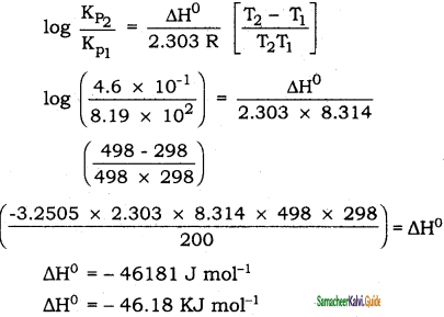 Samacheer Kalvi 11th Chemistry Guide Chapter 8 Physical and Chemical Equilibrium 18