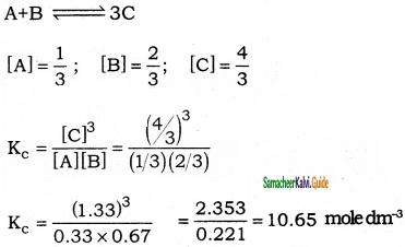 Samacheer Kalvi 11th Chemistry Guide Chapter 8 Physical and Chemical Equilibrium 30