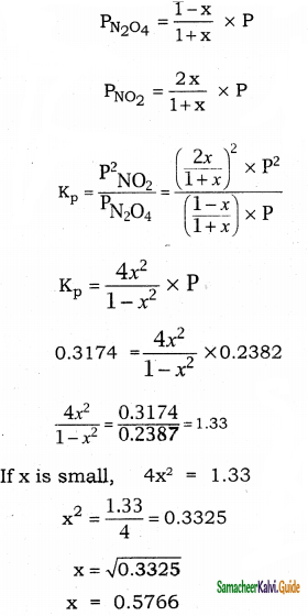 Samacheer Kalvi 11th Chemistry Guide Chapter 8 Physical and Chemical Equilibrium 36