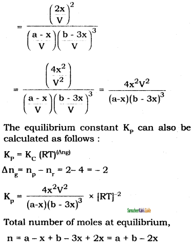 Samacheer Kalvi 11th Chemistry Guide Chapter 8 Physical and Chemical Equilibrium 7