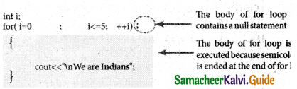Samacheer Kalvi 11th Computer Science Guide Chapter 10 Flow of Control 28
