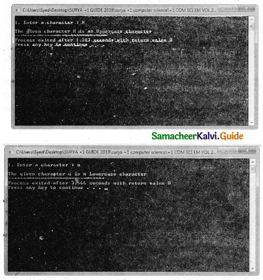 Samacheer Kalvi 11th Computer Science Guide Chapter 10 Flow of Control 34